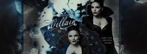Long live the Evil Queen. by blondehybrid