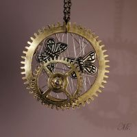Steampunk pendant 38 by TheCraftsman