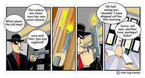 The Onyx Brigade - strip 3 by VictorHugo