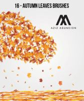 Autumn Leaves Brushes by A-GraphicDesigner