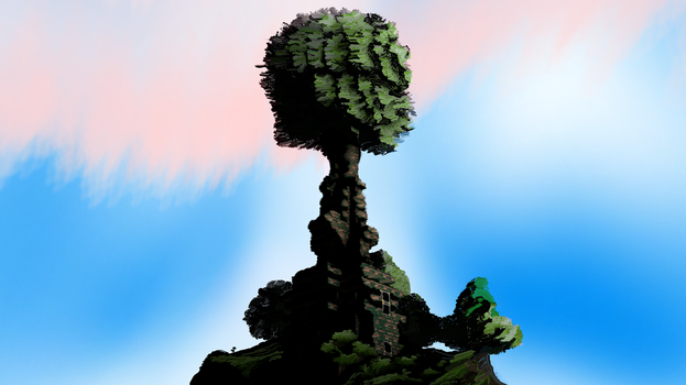Great Tree painted by SBLux