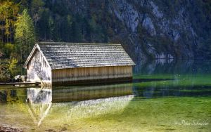 The boat house. by Phototubby