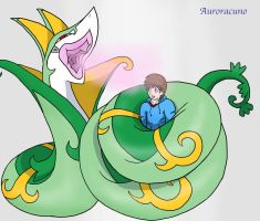 Squeezed by Plushie Serperior