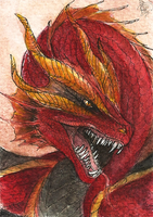ACEO: The Heat by Ryuvhiel