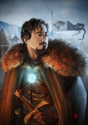 Lord Tony Stark of Winterfell by Khasis Lieb by KhasisLieb