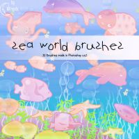 Sea world Brushes by Coby17
