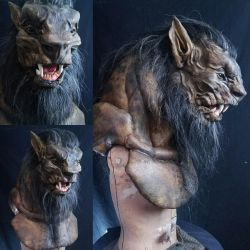 Lycan Torso Mask by Russ Adams by EscapeDesignFX