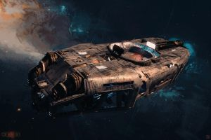 NEXUS - Coffin - Space Barge by Hideyoshi