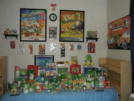 my yoshi collection by vegetarian15