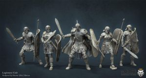 Legionaries Unit by HecM