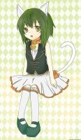 Gumi - Ah Its a Wonderful Cat Life! by Animeshooter