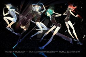 Land of the Lustrous by zzyzzyy