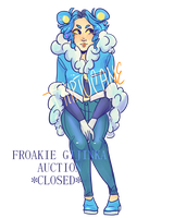 [ CLOSED ] Froakie adoptable auction by t-riptocaine
