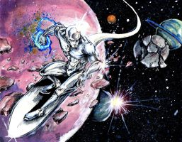 Silver Surfer by cmdelaney88
