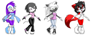 Even More Free Sonic Adopts (CLOSED) by xXSoft-SilenceXx