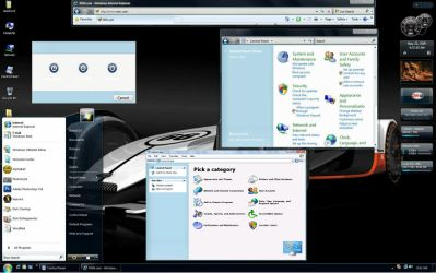Windows 7-Build 7127  XP Vista by Butch123