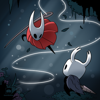 Hollow Knight - Hornet by FrootsyCollins
