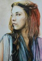 Margaery Tyrell | Game of Thrones by Aintza-K