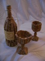 Cork Wine Set by DESIGNOOB