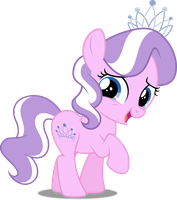 Vector #377 - Diamond Tiara #4 by DashieSparkle