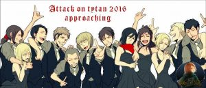 Attack on titan 2016 by kokochan154