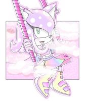 Sonic OC Cat #4 - Lavender Or Pastel? by sarahlouiseghost