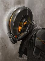 Helmet concept by Fenrir--the-2nd