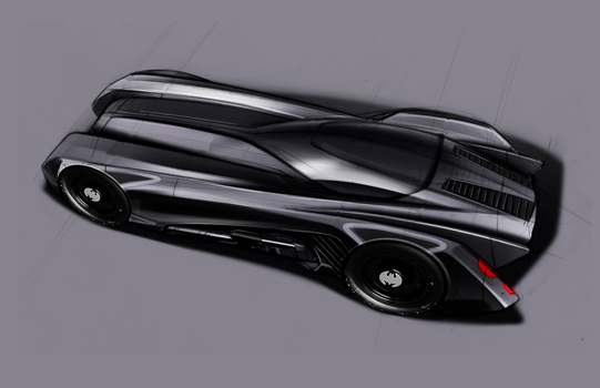 Batmobile 2.0 by Alexbadass
