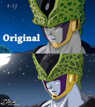 Perfect Cell Think Difference by zika-arts