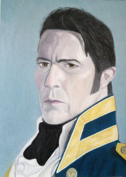 Ciaran Hinds as Captain Frederick Wentworth by LRDoyle