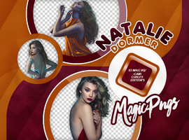 PACK PNG 733| NATALIE DORMER by MAGIC-PNGS