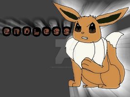 eevee endless wallpaper by BahatiUpendo