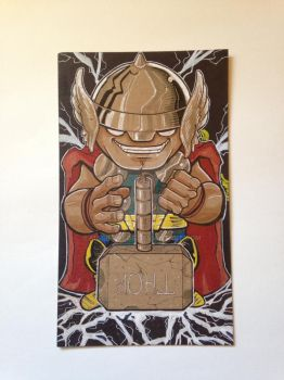 Lil Dude Mighty THOR by MARR-PHEOS