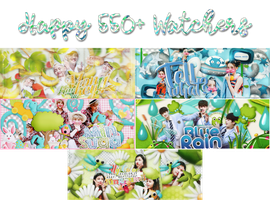[SHARE PSD] HAPPY 500+ WATCHERS by ditthuiom654