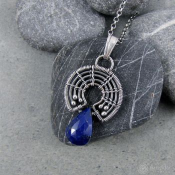 Amade Wrapped Little Lapi-lazuli Necklace by ggagatka