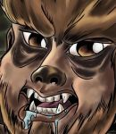 Lon Chaney Jr. Wolfman Caricature (Preview) by ShadowGoethe
