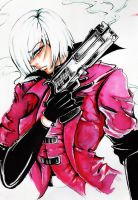 Dante Devil may cry. by Studio-Gemblee
