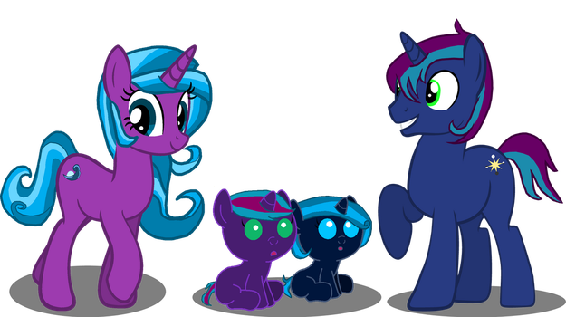 The Whole Family! by pffto-owhatthehell