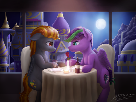 DigiHope: First Date by Novaintellus