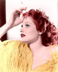 Lucille Ball Colorized 9 by ajax1946
