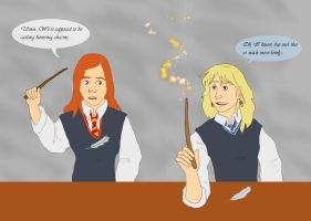 Potter Bonanza - Luna + Ginny by picklelova