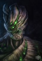 CORRUPTED WOODMAN by S88ART