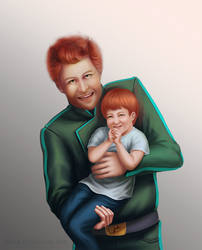 Sean and Oliver by DiiaR