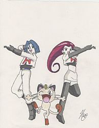Team Rocket ~ by Noohime