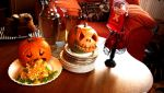 Pumpkins: Puky and Jacky by zzSnowWhiteQueenzz