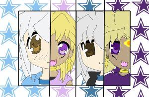 YGO Lucky Star style by Toboe217