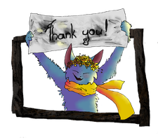Thank You by SilverDreamCat