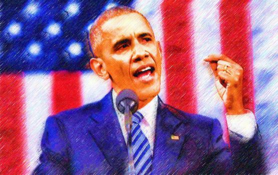 Barack Obama by peterpicture