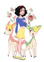 Snow White and her Deerling