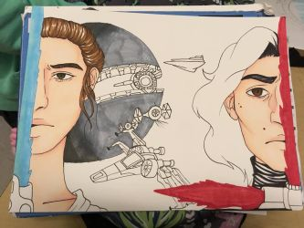 wip star wars by EmmyMay00